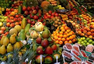 Varietà di frutta e la verdura