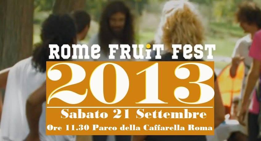 rome Fruit fest 2013
