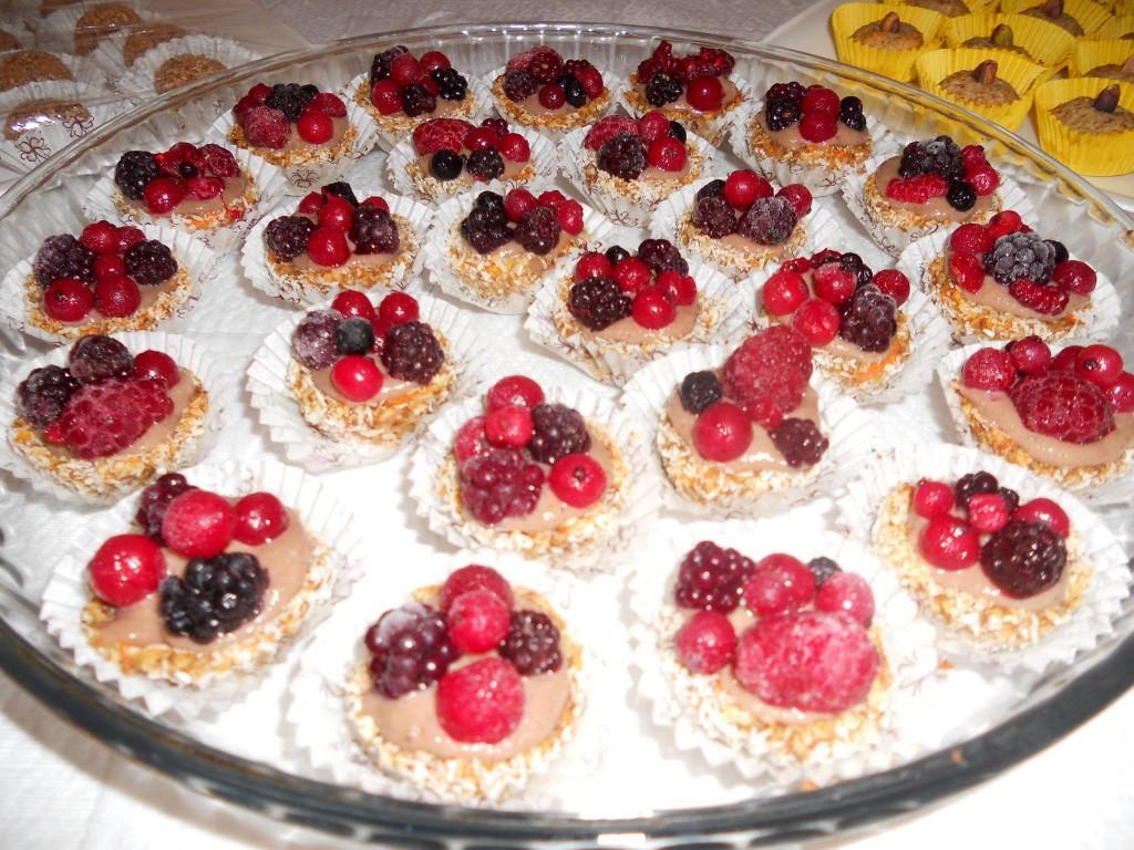 Cestini frutti  e mirtilli