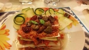 Lasagna e cannelloni di porri