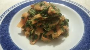 Ricetta carote e spinaci