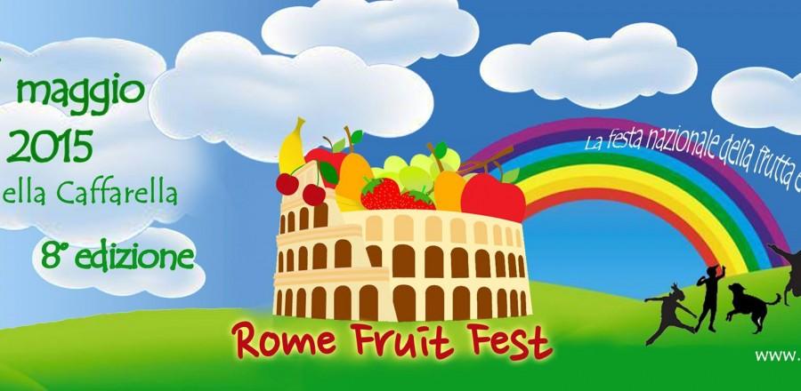 Presentazione e invito al Rome fruit fest 2015 (8a edizione)